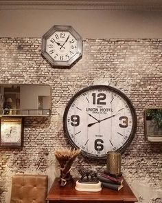 Discover them all at Armaos the Home Collection! Empty Wall, Home Collections, Clock, Decoration, Room, Home Decor, Style, Watch, Decor