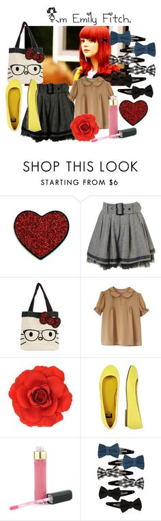 """I`m Emily Fitch."" by l-u-v2 ❤ liked on Polyvore featuring Forever 21, Monsoon, BC Footwear, Chanel, Full Tilt, emily fitch, emily and skins"