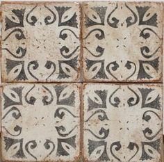 Tabarka Mediterranean Terra Cotta Tile - Eclectic - Tile - other metro - by Mosaic Tile Stone Herringbone Backsplash, Mosaic Backsplash, Beadboard Backsplash, Mosaic Tiles, Backsplash Arabesque, Stove Backsplash, Tiling, Eclectic Tile, Eclectic Kitchen