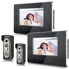 195.00$  Watch here - http://ali00c.worldwells.pw/go.php?t=32711772543 - Best Intercom Systems The Most Affordable Prices  Residential Commercial home security video door phone kit 195.00$