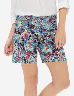 """Printed 5"""" Tailored Shorts from THELIMITED.com"""
