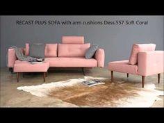 RECAST PLUS SOFAER arm cushions