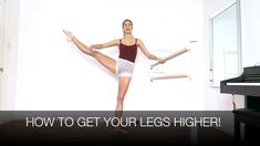 High extensions are something we all want in ballet. High développés and grand battements á la seconde aren't easy but with practise we can all get our legs . Ballet Barre, Ballet Dancers, Dance Terminology, Flexibility Dance, Step Up Revolution, Dance Class, Ballet Class, Dance Tips, Shadow Warrior