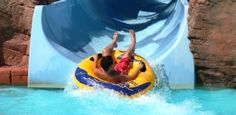 Visiting Menorca, Spain? Then Aqua rock water park must not be missed. Exciting rides, trampolines, and water activities is something everyone loves. Visiting it will give you an opportunity to EXPERIENCE the FUN.