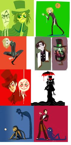 TOO MUCH JEKYLL AND HYDE by otherwise.deviantart.com on @DeviantArt