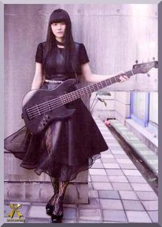 Japanese Girl Band, Japanese Girl Group, Japanese Female, Female Guitarist, Girl Bands, Rock Bands, Maid, Celebrities, Bands