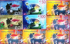 GIFT TESSERE CARD ENI AGIP DA COLLEZIONE   eBay