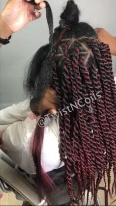 Senegalese Twist Hairstyles, Black Girl Braided Hairstyles, Twist Braid Hairstyles, African Braids Hairstyles, Mixed Kids Hairstyles, Hair Twist Styles, Curly Hair Styles, Natural Hair Styles, Natural Hair Braids
