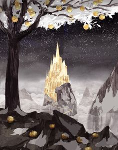 The Golden Castle by Miko-M.deviantart.com on @DeviantArt