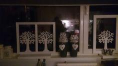Raamdecoratie/schermen