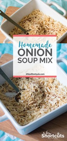 Skip store-bought and make your own with this simple Homemade Onion Soup Mix Recipe. Perfect for making soup, seasoning burgers, and more!