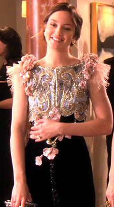 GG S4E21 (Shattered Bass): Blair Waldorf in Alexis Mabille