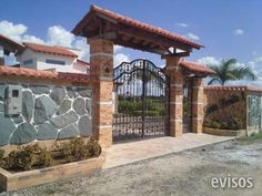 Front Gate Design, Main Gate Design, House Gate Design, Village House Design, Gate House, Bungalow House Design, Fence Design, Hacienda Homes, Hacienda Style