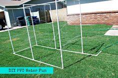 Classy Clutter: DIY PVC Water Fun