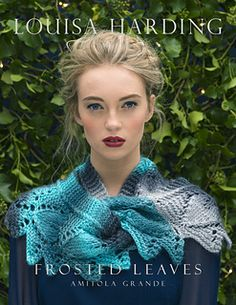Frosted Leaves - Free Pattern - one skein beauty