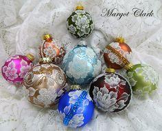 MUD Ornaments by Margot Clark.