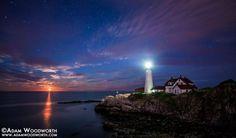 Port Woodward lighthouse