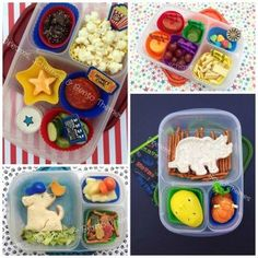 Lots of fun and easy lunchbox idea for school! | packed in @EasyLunchboxes
