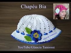 Chapéu Bia / Crochê - YouTube Crochet Hooded Scarf, Crochet Cap, Crochet Baby Hats, Knitted Hats, Motif Mandala Crochet, Crochet Patterns, Sombrero A Crochet, Confection Au Crochet, Crochet Crafts
