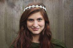 Daisy Headband  EDCTiny Daisy Crown Hippie by BloomDesignStudio, $21.00