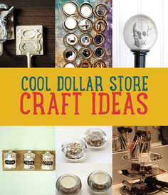 Learn how to make the best dollar store crafts? DIY craft projects for a dollar are easy. Make cheap projects look expensive with these tips and tricks!