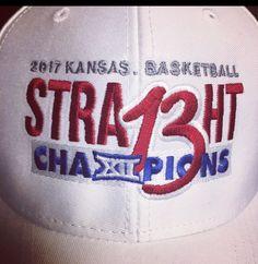 Kansas Jayhawks Men's Basketball team win their 13th Straight Big XII Season Championship, 2017