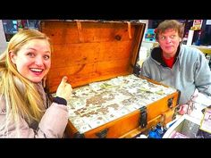 WE GAVE AWAY ALL OUR TREASURE HUNT CHEST MONEY! - YouTube Treasure Chest, Pinball, Money, 5 Years, Beach House, Youtube, Beach Homes, Youtube Movies, Silver