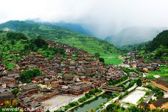 Top 10 family summer destinations in China: One-Thousand-Household Miao Village. Houses built tier upon tier on the hillside of Xijiang, in Southwest China's Guizhou province. Known as a historical cultural ancient town, the village cluster is the largest Miao village in China with more than 10 natural villages and about 1,200 families. Visitors can interact with locals with Miao dances and craft making to better understand their culture. [IC]