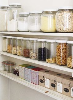Beautiful small corner of a pantry by Sanae Shida. Inspires me to change a few things!
