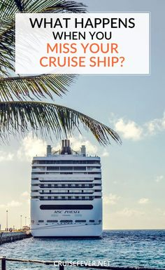 What Happens When You Miss Your Cruise Ship?