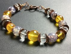 Jewelry/Bracelet/Zen Healing Stones for by CatchyTreasures on Etsy
