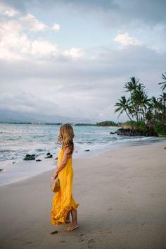 Gal Meets Glam Golden Sunset - Rhode Resort dress & Cult Gaia bag