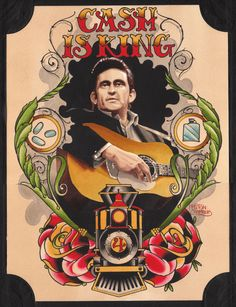 FOR SALE: Johnny Cash painting. Buy it? Buy it!   The Rebellion ...