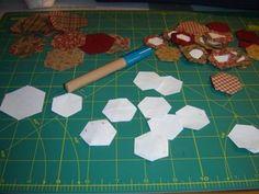Patches, Quilts, Blog, Support, Gardens, Patchwork Tutorial, Hexagons, Quilt Block Patterns, Template