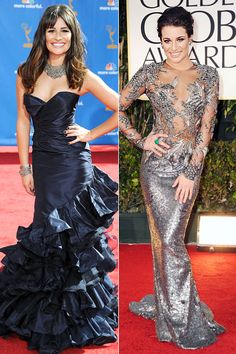 Glee star Lea Michele turns 29 today, and in honor of her last birthday celebrating her twenties, let's take a look back at her often times polarizing red carpet looks.    With all her endearingly obvious sultry poses and the crazy cleavage-baring couture, we can always count on Ms. Michele to give us something to talk about! http://insdr.co/ProuuZ