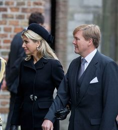 The Dutch Royals, including Queen Maxima, King Willem-Alexander, Princess Beatrix, Princess Mabel attended a memorial for Prince Friso - Pho...
