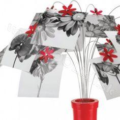 UMBRA design FOTOFALLS UMBRA Stojan na fotky červený Photo Mural, Photos, Deco, Plants, Design, Cadre Photo, Pictures, Decor, Deko