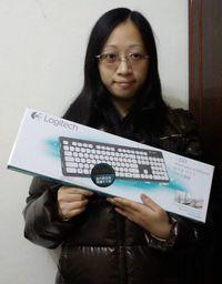 羅技 可洗式鍵盤 K310,得標價格7元,最後贏家sandy71722:這次低結了~只花2標就得標了,鍵盤很好用,不怕它髒掉了,好讚的商品,謝謝快標網。