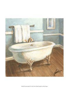 Vasche da bagno, Arte contemporanea Poster con cornice su AllPosters.it