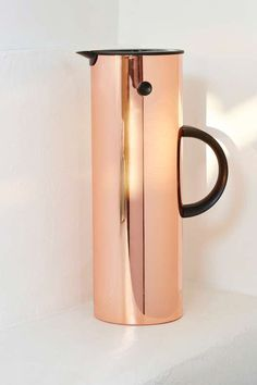 Stelton Vacuum Jug - Metallic - Gifts + Home
