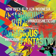 MAC is now open at Plaza Indonesia Level 2. Join MAC store opening party on April 21st 2017.  via L'OFFICIEL INDONESIA MAGAZINE INSTAGRAM - Fashion Campaigns  Haute Couture  Advertising  Editorial Photography  Magazine Cover Designs  Supermodels  Runway Models