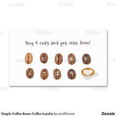 Coffee Loyalty Punch Card Minimal Pinterest Card Templates - Business punch card template free