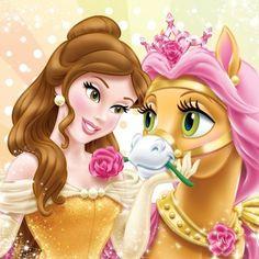 Вышивка крестом принцесса и пони. Схема вышивки с принцессой