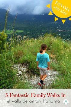 5 Fantastic Family-Friendly walks in El Valle de Anton, Panama via @farflunglands