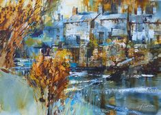 Beside the Stream by Chris Forsey RI