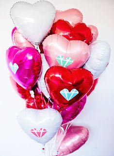 Valentine day Balloon Surprise