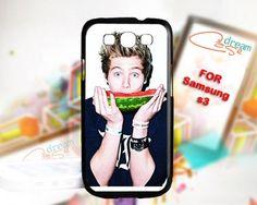 Luke hemmings 5 Seconds - Print On Hard Case Samsung Galaxy S3 i9300