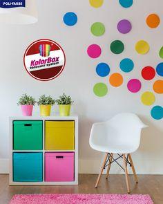 ...existujú farby, ktoré sú príliš zložité na to, aby ich dokázalo ľudské oko vnímať. Sú známe ako nemožné či zakázané farby. 🌈 👉V našich predajniach Vám však vieme vymiešať všetky možné farby od výmyslu sveta. Kde? Home Decor, Decoration Home, Room Decor, Home Interior Design, Home Decoration, Interior Design