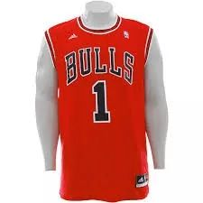 dc2e6c8b6 Camisa Adidas Basquete Chicago Bulls Importada