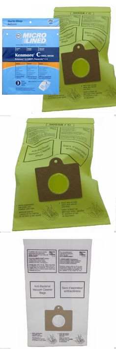 Vacuum Cleaner Bags 20618: Sears Kenmore Vacuum Bags Panasonic Canistor 5055 50557 50558 Candq C-5 Made Usa -> BUY IT NOW ONLY: $99 on eBay!